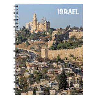 Notitieboekje met Jeruzalem in Israël Ringband Notitieboek