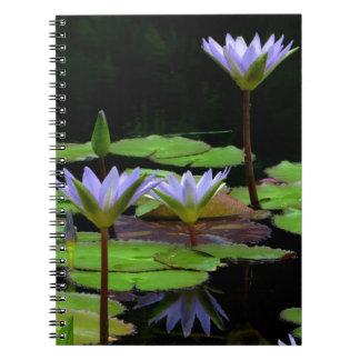 Notitieboekje/Persoonlijk Dagboek - paarse Notitieboeken