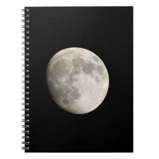 Notitieboekje/Persoonlijk Dagboek - volle maan op Ringband Notitie Boeken