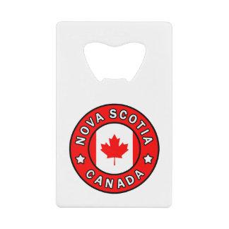 Nova Scotia Canada Creditkaart Flessenopener