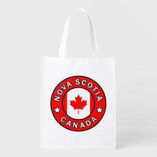 Nova Scotia Canada Herbruikbare Boodschappentas