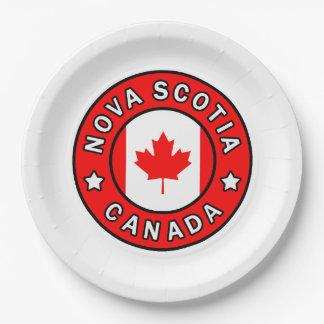Nova Scotia Canada Papieren Bordje