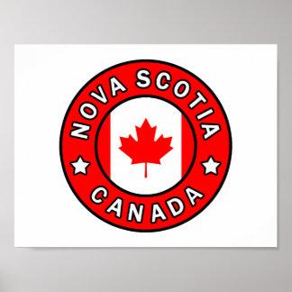 Nova Scotia Canada Poster