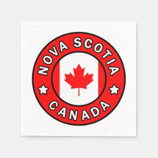 Nova Scotia Canada Wegwerp Servetten