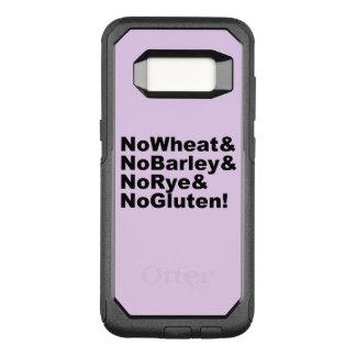 NoWheat&NoBarley&NoRye&NoGluten! (blk) OtterBox Commuter Samsung Galaxy S8 Hoesje