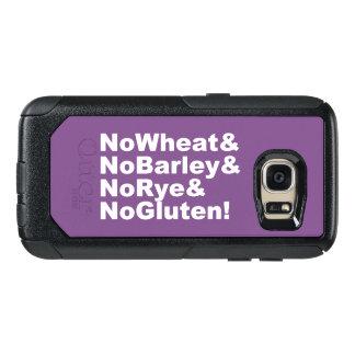 NoWheat&NoBarley&NoRye&NoGluten! (wht) OtterBox Samsung Galaxy S7 Hoesje