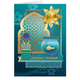 Nowruz Mubarak. De Perzische Wenskaarten van het