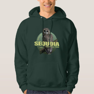 NP van de sequoia (Bevlekte Uil) GEWICHT Hoodie