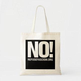 Nr! Het Canvas tas van het Fascisme van het afval