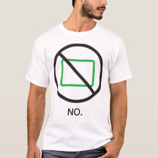 Nr. Het Overhemd van het mannen T Shirt