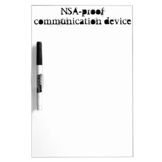 NSA-bewijs communicatie apparaat Whiteboards