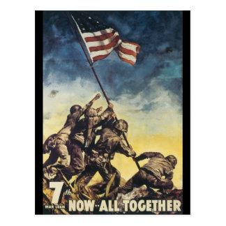 Nu Al samen Oorlog van de Wereld 2 Briefkaart