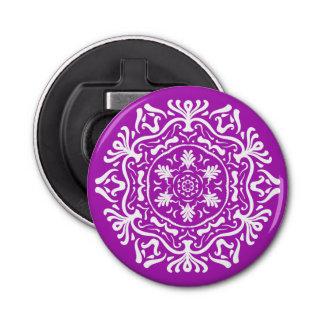 Nudibranch Mandala Button Flesopener