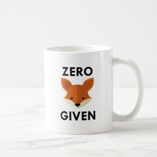 Nul Gegeven Vos Koffiemok