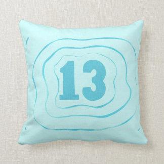 Nummer 13 het Kussen van het Patroon van de