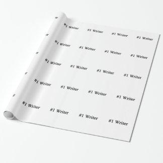 Nummer 1 Schrijver Inpakpapier
