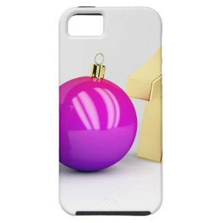 Nummer 2018 met de bal van Kerstmis Tough iPhone 5 Hoesje