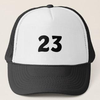 Nummer 23 trucker pet