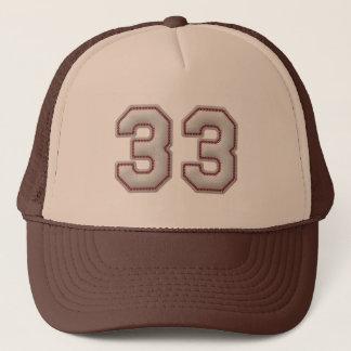 Nummer 33 met de Koele Steken van het Honkbal ziet Trucker Pet