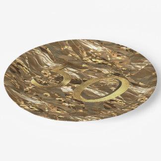 Nummer 50 het Goud van het Jubileum van de Papieren Bordje