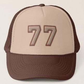 Nummer 77 met de Koele Steken van het Honkbal ziet Trucker Pet