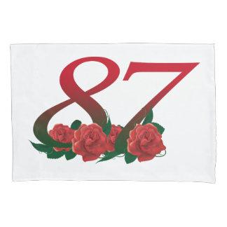 Nummer 87 de 87ste dekking van het kussensloop