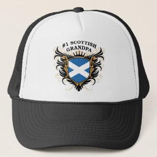 Nummer Één Schotse Opa Trucker Pet