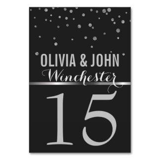 Nummer van de Lijst van het Huwelijk van het bord Kaart