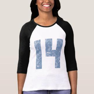 Nummer Veertien de 14de Giften van de Verjaardag T Shirt