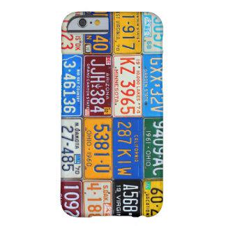 Nummerplaten van de V.S. - Onze Kleurrijke Barely There iPhone 6 Hoesje