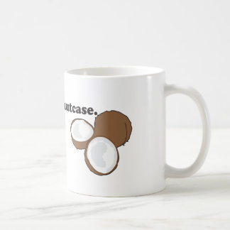 nutcase. (kokosnoot) koffiemok
