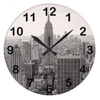 NY het Empire State Building van de Horizon van de Grote Klok