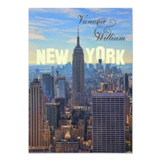NY het Empire State Building van de Horizon van de Kaart