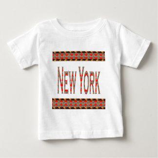NY Rode n van NEW YORK New York Gouden Grens Shirt