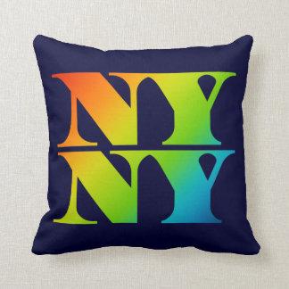NY van de Stad van New York NY hoofdkussen Sierkussen
