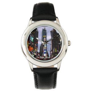 NY van het Horloge van New York het Polshorloge