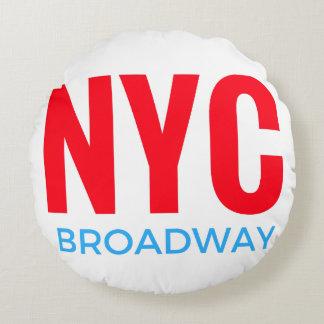 NYC Broadway Rond Kussen