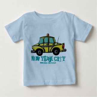 NYC het babyt-shirt van de controleurscabine Baby T Shirts