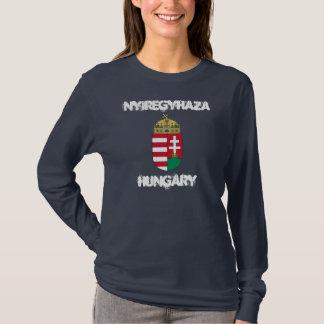 Nyiregyhaza, Hongarije met wapenschild T Shirt