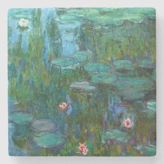 Nymphéas van Claude Monet Stenen Onderzetter