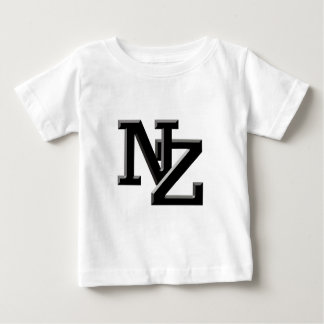 NZ brieven Nieuw Zeeland Baby T Shirts