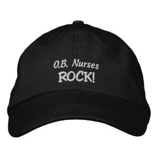 O.B. De verpleegsters schommelen! Geborduurde Pet
