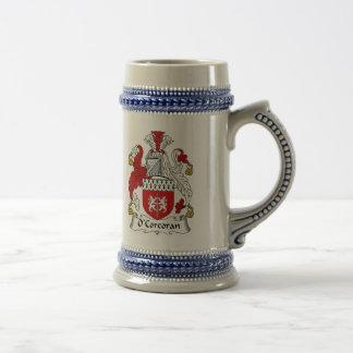 O Corcoran de Stenen bierkroes van het Wapenschild Bierpul