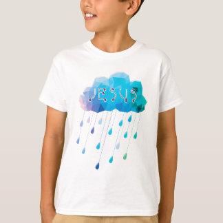 O de God, didst verzendt een overvloedige regen T Shirt