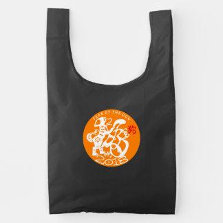 O het Chinese Nieuwjaar 2018 Opnieuw te gebruiken Herbruikbare Tas