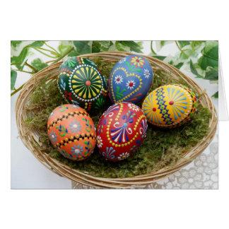 O.k. de tijd van Pasen slechts om eieren in één Kaart