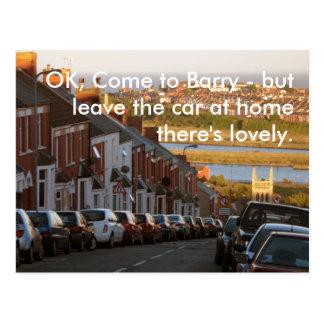 O.K., kom aan Barry - Briefkaart
