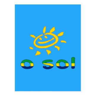 O Sol - The Sun in de Braziliaanse Vakantie van de Briefkaart