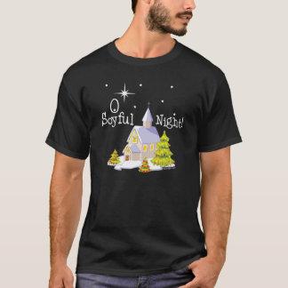 O Soyful Kerstmis van de Nacht T Shirt