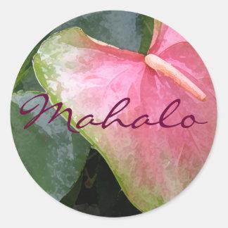 Obake Mahalo Ronde Sticker